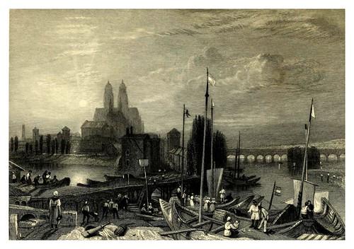 005-Canal entre el Loira y el Cher cerca de Tours-Wanderings by the Loire- 1833- J. M. W. Turner