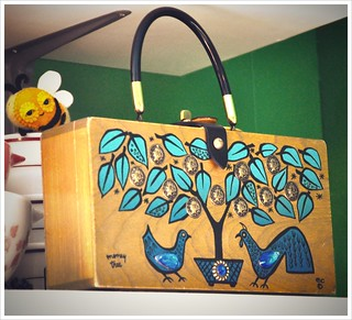 enid collins money tree box bag