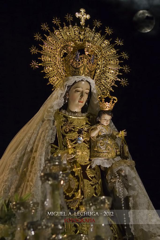 Virgen del Carmen Coronada, Patrona de Estepona