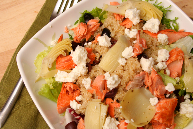 mediterranean salmon salad 3