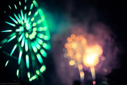 bokeh fireworks
