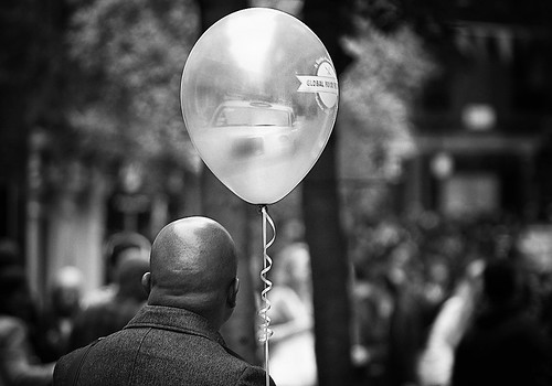 """Nobody can be uncheered with a balloon"""