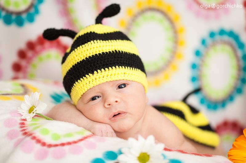 Егор, 17 дней. Фотографирование новорожденных