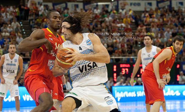 España - Argentina. 20 de Julio de 2012
