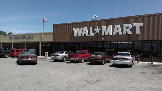 Wal mart baxter springs kansas storefront closeup flickr photo sharing for Walmart pharmacy garden city ks