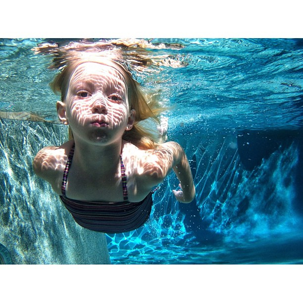 that day we laughed and swam together ... I shared the events of this day on my blog. Thank you for everyone's comments of love and prayers for Lily. I treasure this photograph #lifeproofcase #sooc no editing #underwater