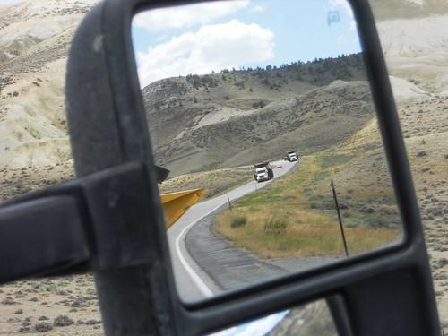 Trucks going down 9% downgrade