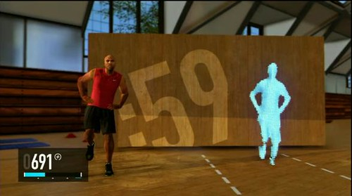 Nike plus Kinect