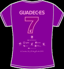 GUADEC-ES 2010 Female T-Shirt Back
