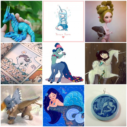 Friday Funspiration: Mythical creatures