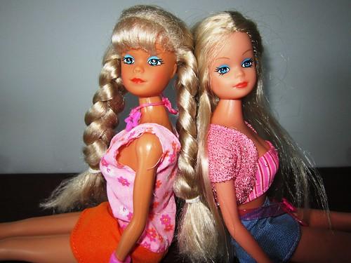 Винтажные куклы Штеффи Steffi Love