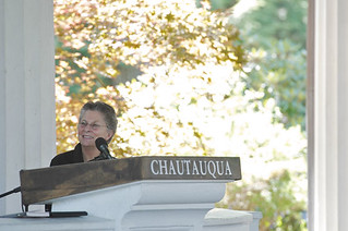Joan Halifax at Chautauqua
