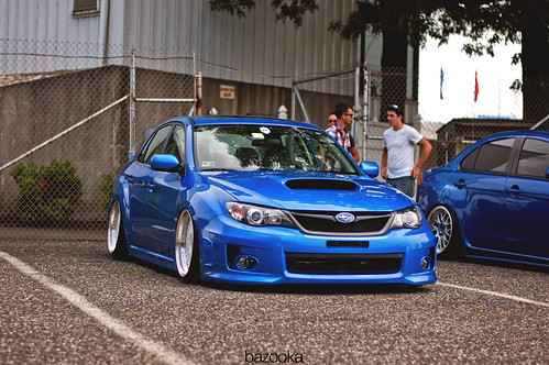 Evo & STI | Waterfest 18 by BazookaPhotography