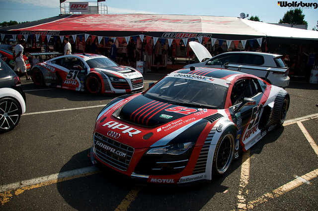 Waterfest 2012, APR Audi R8 Grand Am