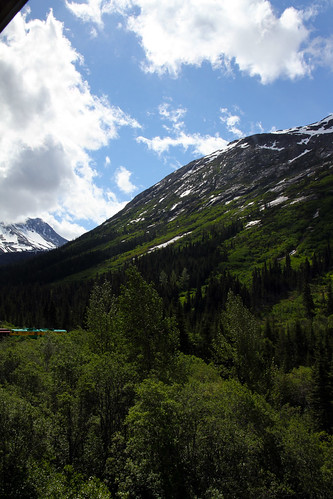 White Pass Railroad - More Green and Blue