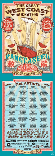 PangeaSeed Tour Poster