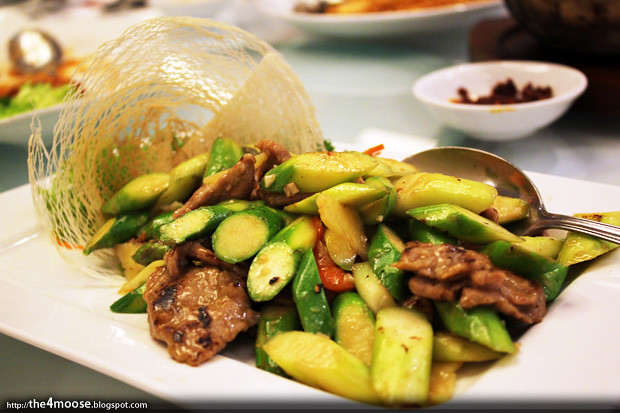 The Cathay Restaurant - Beef Slices with Asparagus