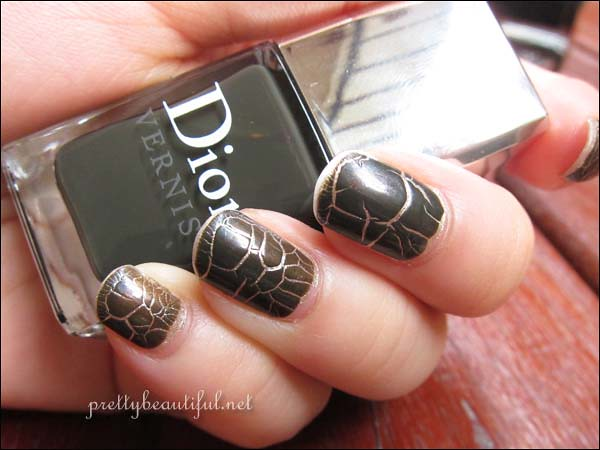 Dior Crocodile Effect Top Coat