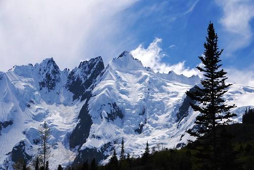 無料写真素材, 自然風景, 山, 雪山, 風景  アメリカ合衆国