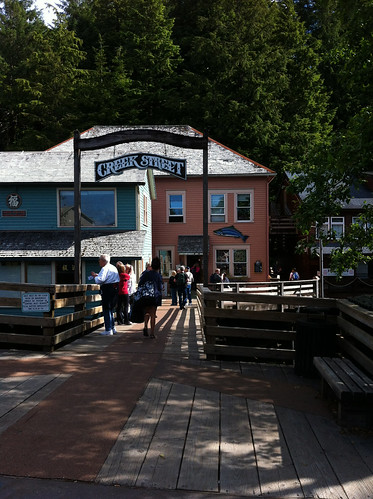 Ketchikan - Left Entrance to Creek Street