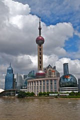 Climb onto the sixth highest tower in the world- Oriental Pearl TV Tower - Things to do in Shanghai