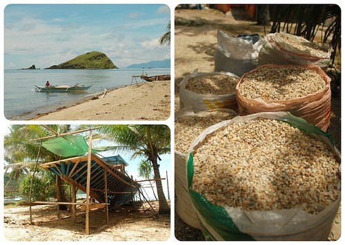 Break at a beach in Brgy. Lamao