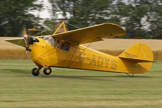 G-ADYS - 1935 build Aeronca C3