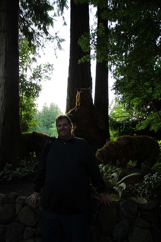 Butchart Gardens - Mike, Attacked by Bears