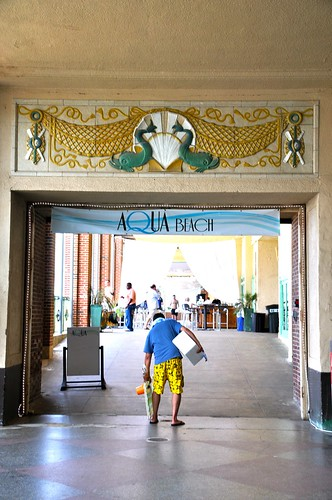 Asbury Park Boardwalk Convention Hall Bar Entrance