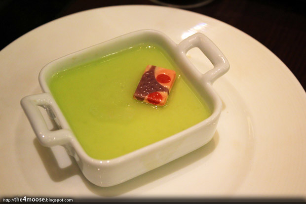 Cafebiz - Green Tea Panna Cotta