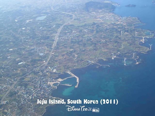 Jeju Island Aerial View