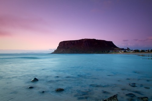 Dawn over Stanley (2), Tasmania