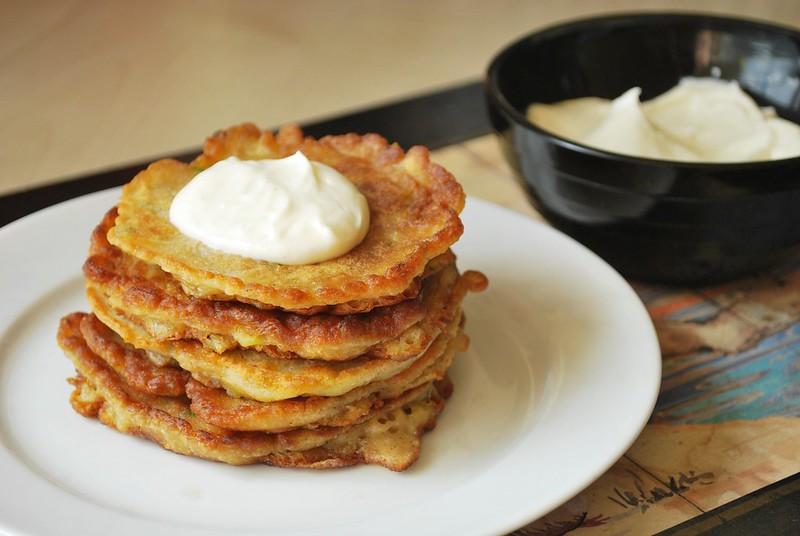 zucchini bread pancakes