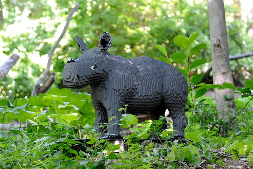 Lego Rhino by russlings
