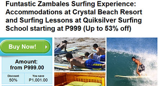 Zambales Surfing Experience Package Promo