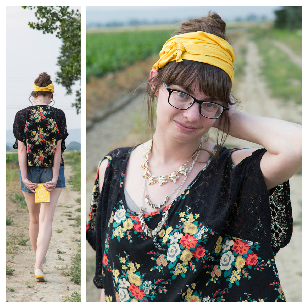 Beehive+ Boho Outfit collage 1