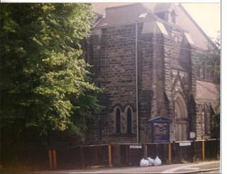 Saint Barnabus Church (1991), Bass Street/Radbourne Street, New Zealand, Derby