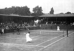 sport venue, soft tennis, tennis court, tennis, sports, ball game, racquet sport, monochrome, black-and-white,