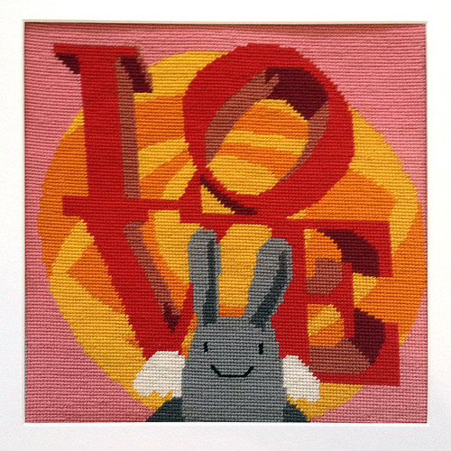 Angel Bunny Tapestry