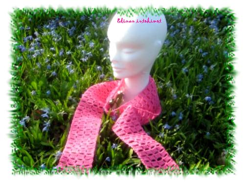 Pinkki pylväshuivi_1