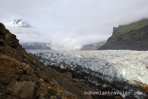 Svinafellsjokull glacier tongue (2)