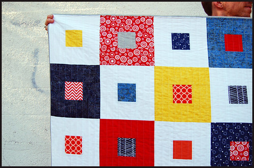 boy quilt, v 1.0 close up