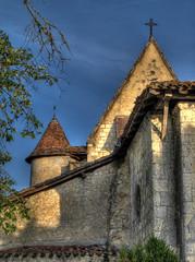 Eglise de Goualade - Photo of Saint-Michel-de-Castelnau