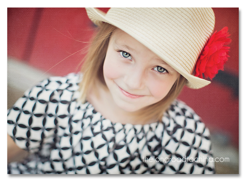 Sarah in the JCrew Hat1 tex blog