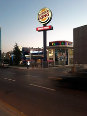 Burger king in Amman
