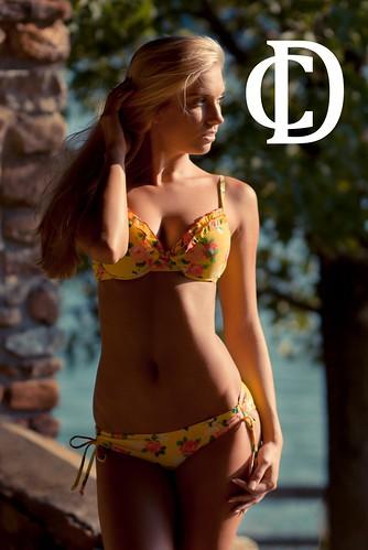 summer model photoshoot bikini blonde sprucerun