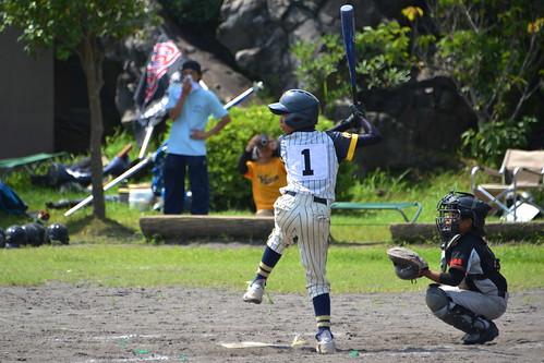 2012夏日大作戰 - 桜島 - 野球試合 (11)