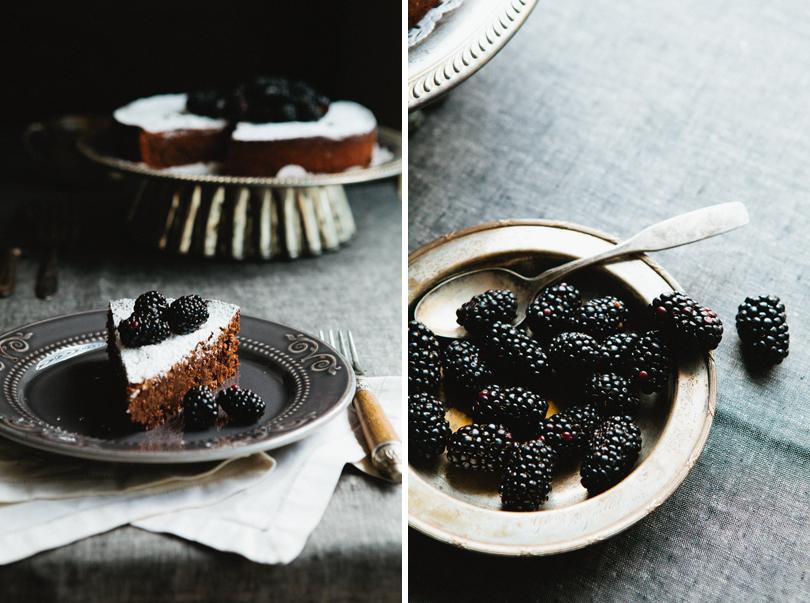 Шоколадный торт с лесным орехом