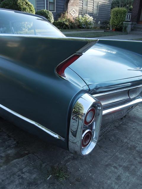 1960 Cadillac tail light fin