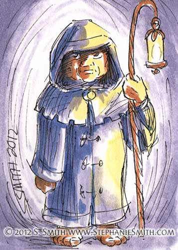 #8 Dwarf — Fantasy People series